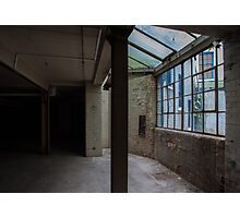 Contrasting Abandonment  Photographic Print