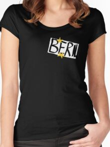 black books Women's Fitted Scoop T-Shirt