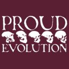 Proud Evolution White Skulls by himmstudios