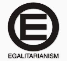 Egalitarian and equality logo by Dan Vann