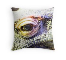 Dragons eye Throw Pillow