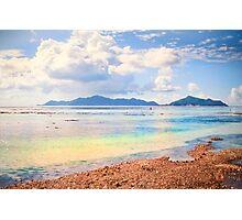 Seychelles. Anse Source d' Argent .La Digue. Photographic Print