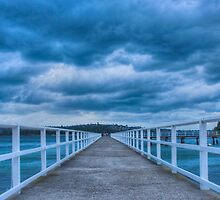 Along the jetty by Chris Brunton