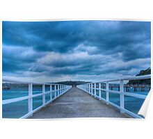 Along the jetty Poster