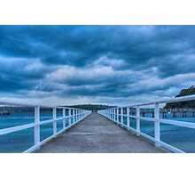 Along the jetty Photographic Print