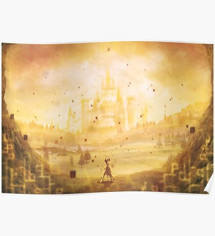 Golden Hyrule (25 left!) Poster