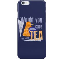 Dalek with Tea iPhone Case/Skin