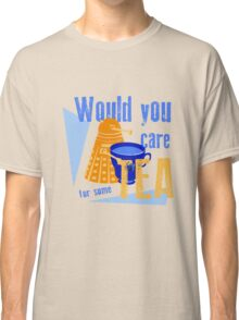 Dalek with Tea Classic T-Shirt