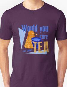 Dalek with Tea T-Shirt