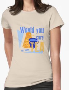 Dalek with Tea T-Shirt