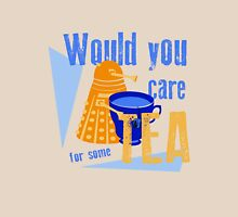 Dalek with Tea Unisex T-Shirt