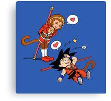 Son Son Goku Canvas Print