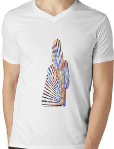 Cool hipster t-shirt Mens V-Neck T-Shirt