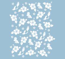 Aloha - pattern by GrimmlingComics