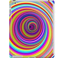 Hypnotic Psychedelic Vertigo Hole iPad Case/Skin