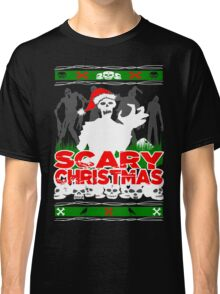 Scary Christmas Zombies Classic T-Shirt
