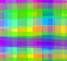 Psychedelic Squares Texture Pattern by BluedarkArt