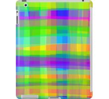 Psychedelic Squares Texture Pattern iPad Case/Skin