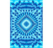 Hypnotic Blue Photographic Print