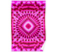 Hypnotic Pink Poster