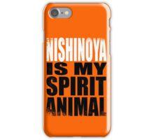 Nishinoya is my Spirit Animal iPhone Case/Skin