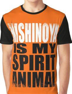 Nishinoya is my Spirit Animal Graphic T-Shirt