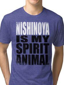 Nishinoya is my Spirit Animal Tri-blend T-Shirt