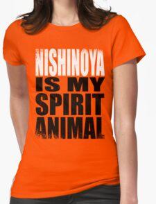 Nishinoya is my Spirit Animal Womens Fitted T-Shirt