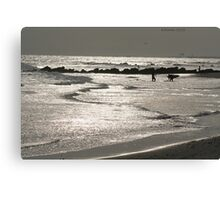 Lonely Ocean Canvas Print
