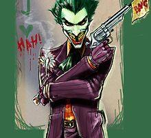 Sketchy Joker by fragworks
