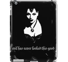 Evil has never looked this good. iPad Case/Skin