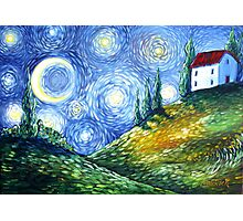 Look to the Stars Photographic Print