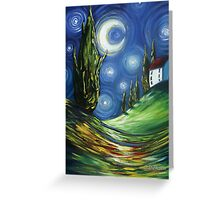 The Dreamers Night Sky Greeting Card