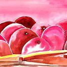 Peach fuzzy by Anil Nene