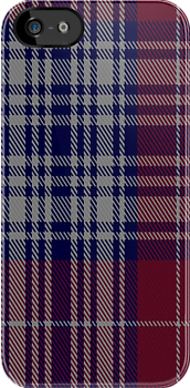 00868 West Coast Woven Mill Fashion Tartan #9285 4906-2 Fabric Print Iphone Case by Detnecs2013
