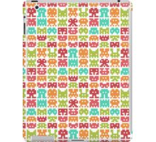 8 bit monster iPad Case/Skin