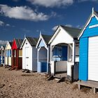 Beach huts by Mark Cass