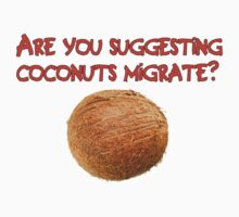 Are You Suggesting Coconuts Migrate? by Chunga