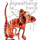 Red Cat by Tatiana Ivchenkova