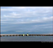 County Route 46: William Floyd Parkway Bascule Bridge - Smith Point, New York by © Sophie W. Smith