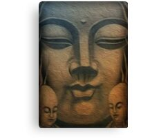 Buddha Pianting Canvas Print