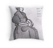 Breton Woman~after roderic o connor Throw Pillow