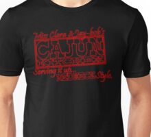 Miss Clara and Jay-bob's Cajun Kitchen Unisex T-Shirt