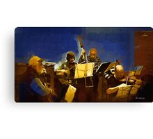 Old Time Music Canvas Print