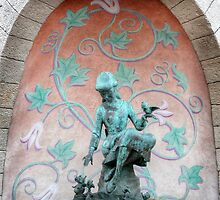 Cinderella Fountain Disneyland Paris by JohnYoung