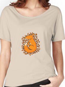Sleeping Fox Women's Relaxed Fit T-Shirt