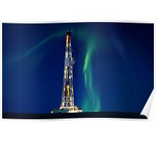 Drilling Rig Potash Mine Poster