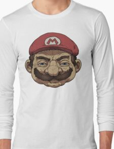 Old Mario Long Sleeve T-Shirt