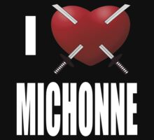 "The Walking Dead ""I Love Michonne"" by Slitter"