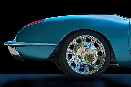 1959 Corvette Roadster Detail by DaveKoontz